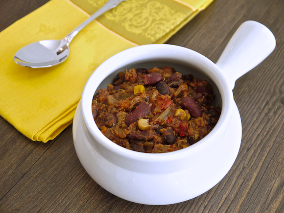 Quinoa Bean Veggie Chili