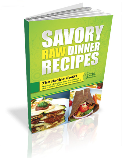 Savory raw dinner recipes and comfort soups combo savory raw dinner recipes with veronica and frederic patenaude forumfinder Images
