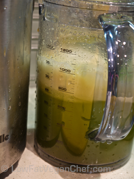 How To Make Dr. Joel Fuhrman's Eat To Live Anti Cancer Split Pea Mushroom Soup Celery Juice