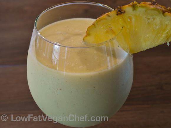 Raw Vegan Summer Piña Colada Recipe