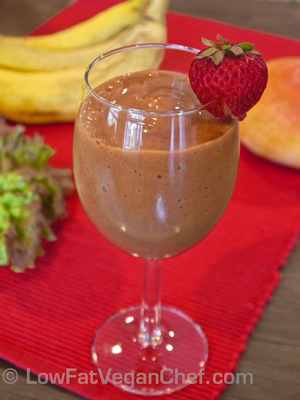 StrawberryBananaGreenSmoothie