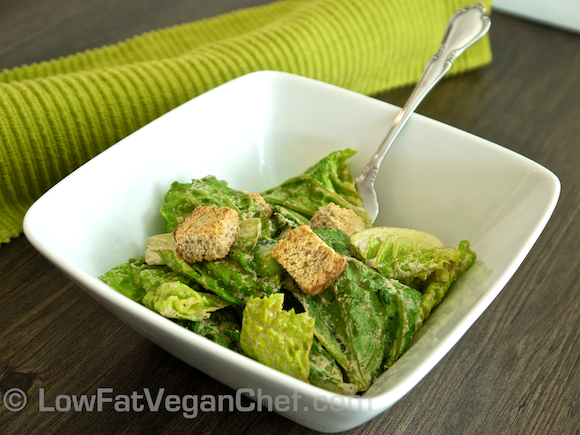 The Best Raw Vegan Caesar Salad Dressing Recipe!