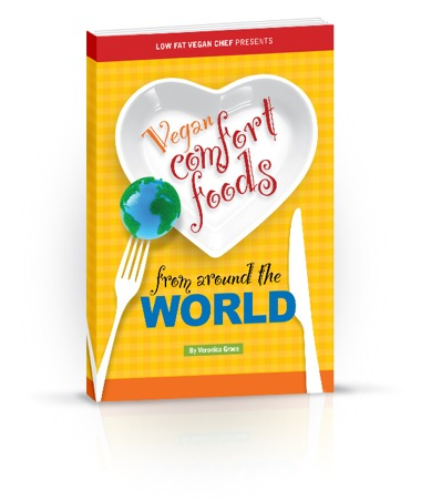 Preview Photos From Vegan Comfort Foods From Around The World Recipe Ebook