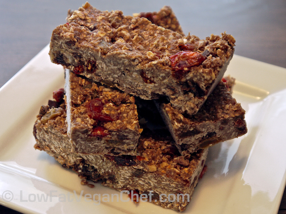 Antioxidant Omega-3 High Protein Vegan Granola Bars