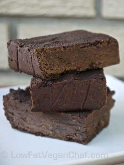 Gluten Free Vegan (Flourless) Black Bean Brownies