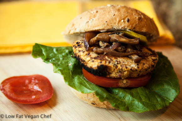 Vegan Chickpea Quinoa Burgers with Lemon and Thyme (Gluten Free)