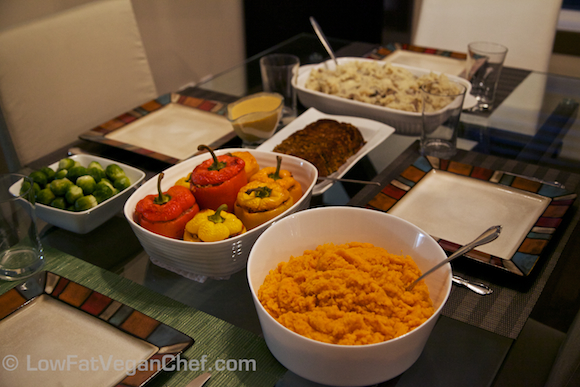 Low Fat Vegan Chef's Thanksgiving